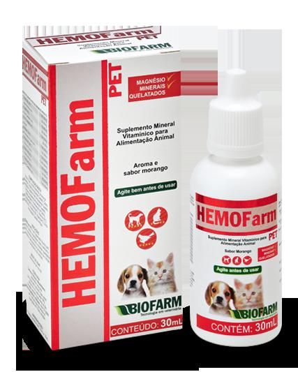 Hemofarm Pet Uso Oral 30ml