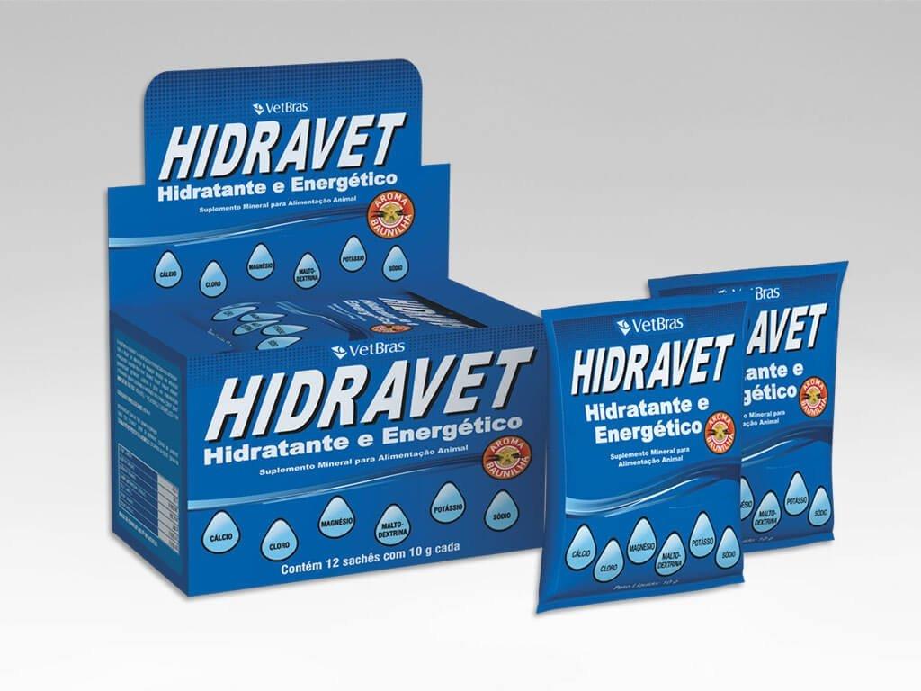 Hidravet Hidratante e Energético Suplemento Vitaminico - Sache 10g