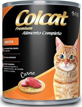 Lata Colcat Carne - 300gr