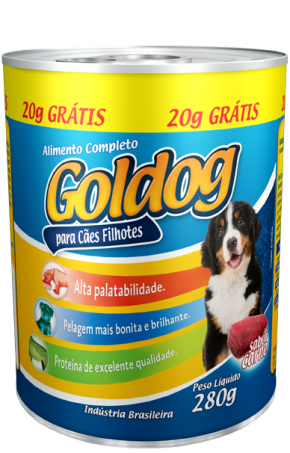 Lata Coldog Carne Filhote - 300g