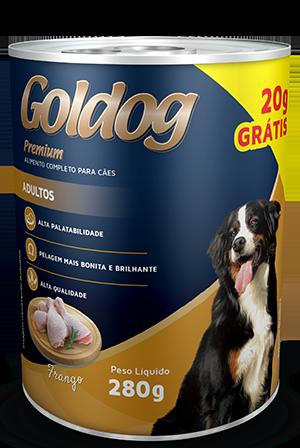 Lata Coldog Premium Frango Adulto 280g
