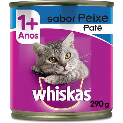 Lata Whiskas Peixe Adulto 290g