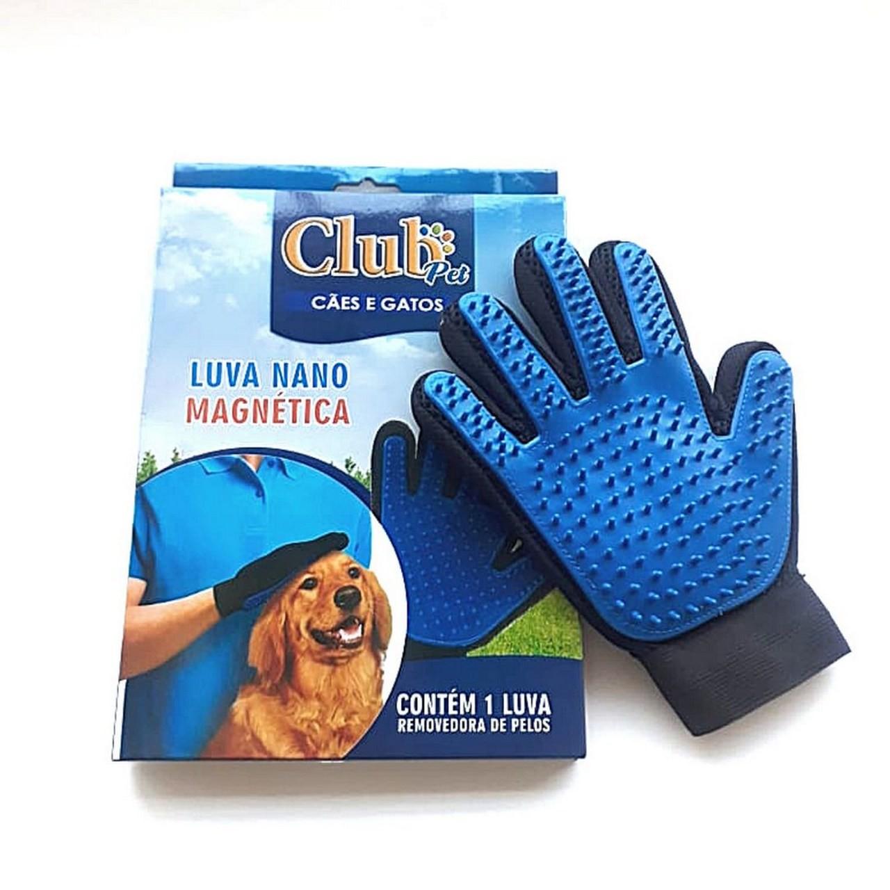Luva Nano Magnetica Club Pet