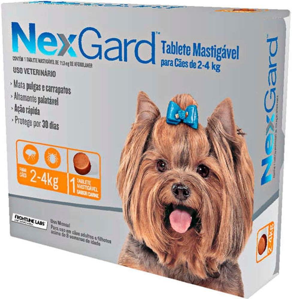 Nexgard 2 a 4 kg (Caixa c/ 1 Comprimido)