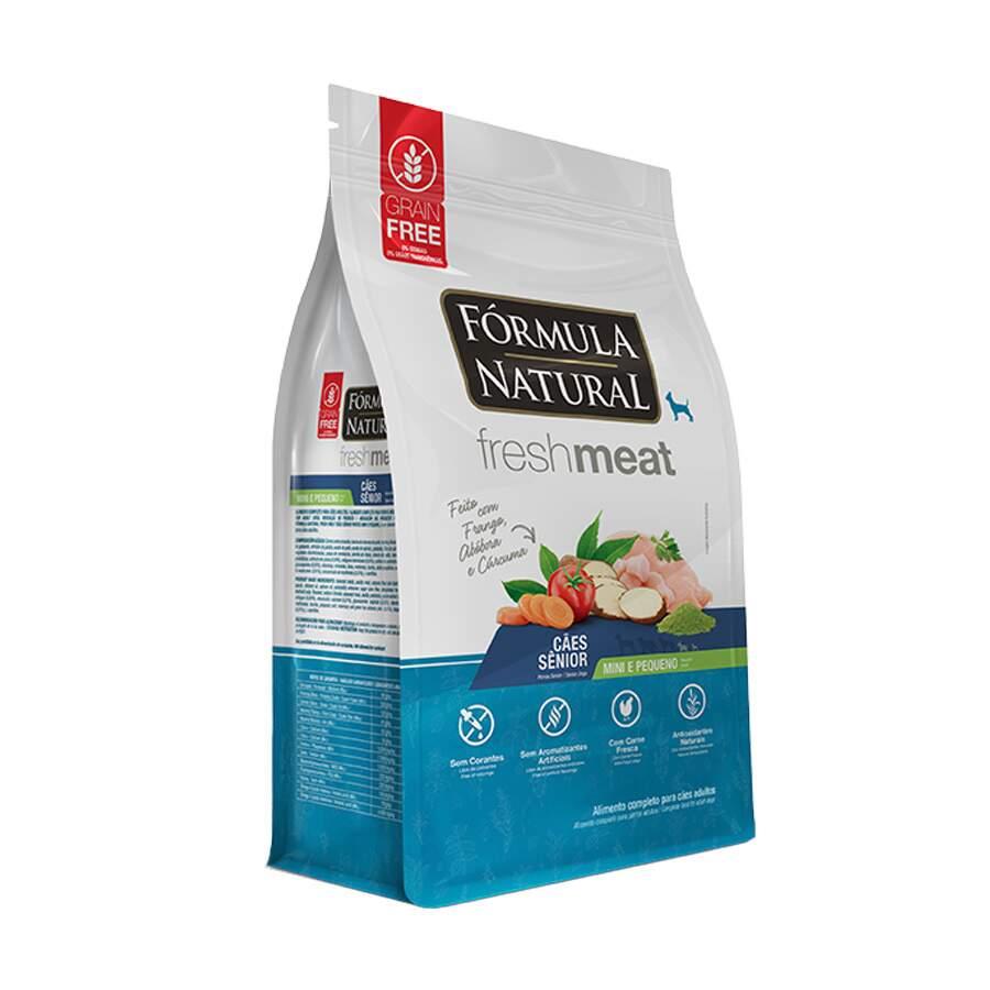 Ração Formula Natural Fresh Meat Mini/Peq Sênior 7Kg