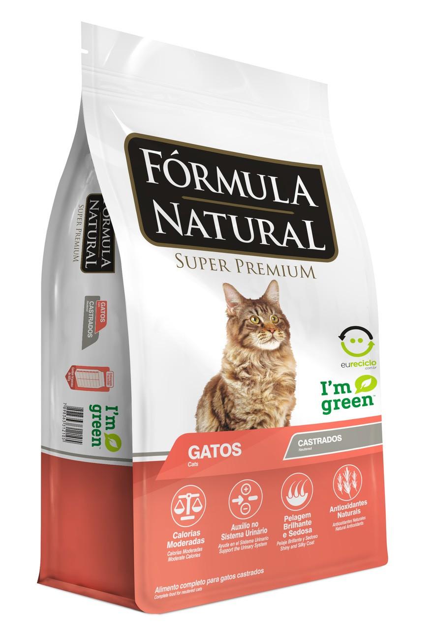 Ração Formula Natural Gato Castrado 7Kg