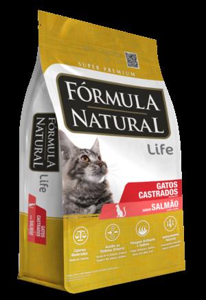 Ração Formula Natural Gatos Salmão Castrados - 15KG