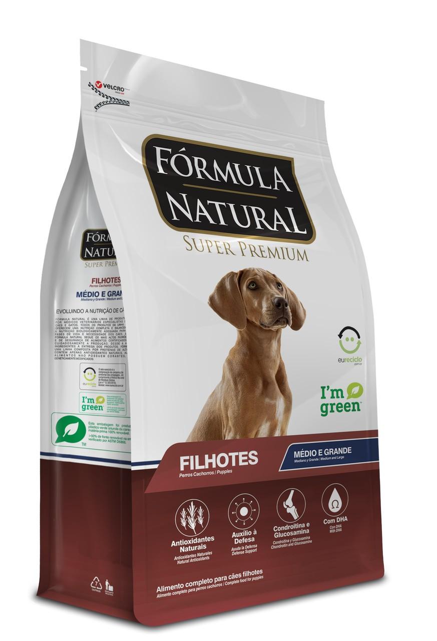 Ração Formula Natural Porte Médio /Grande Filhote 15kg