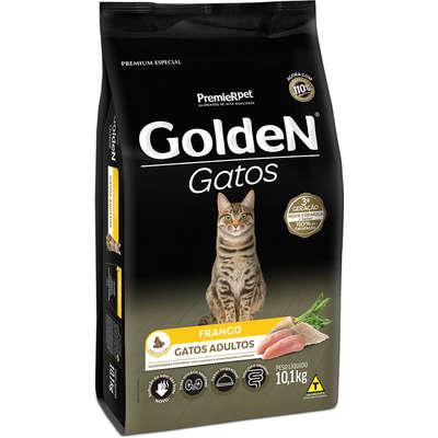 Ração Golden Gatos Frango Adultos  10,1Kg