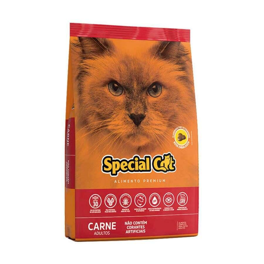 Ração Special Cat Carne Adulto 10,1kg