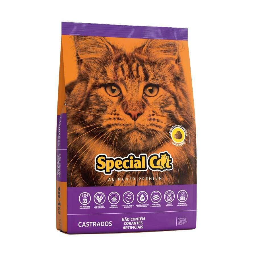 Ração Special Cat Castrados - 20Kg