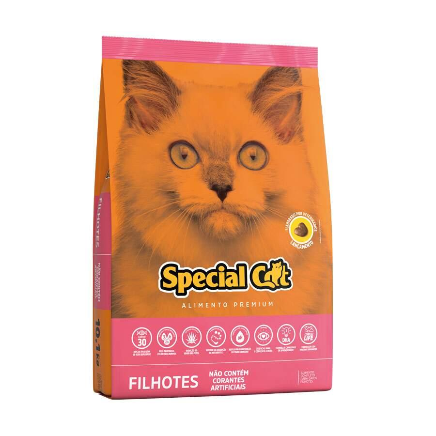 Ração Special Cat Filhotes - 3Kg