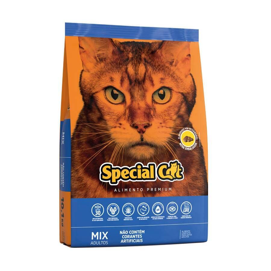 Ração Special Cat Mix Adulto - 10Kg