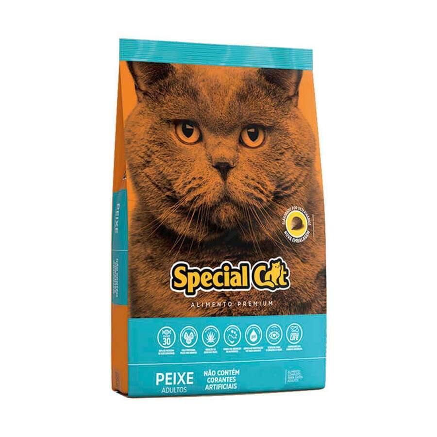 Ração Special Cat Peixe Adulto - 3Kg