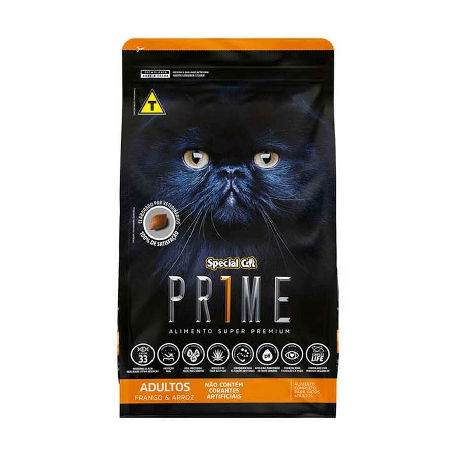 Ração Special Cat Prime Frango Adulto 3kg