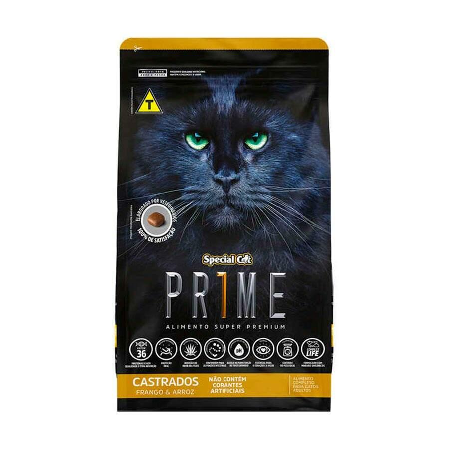 Ração Special Cat Prime Frango Castrado  3kg
