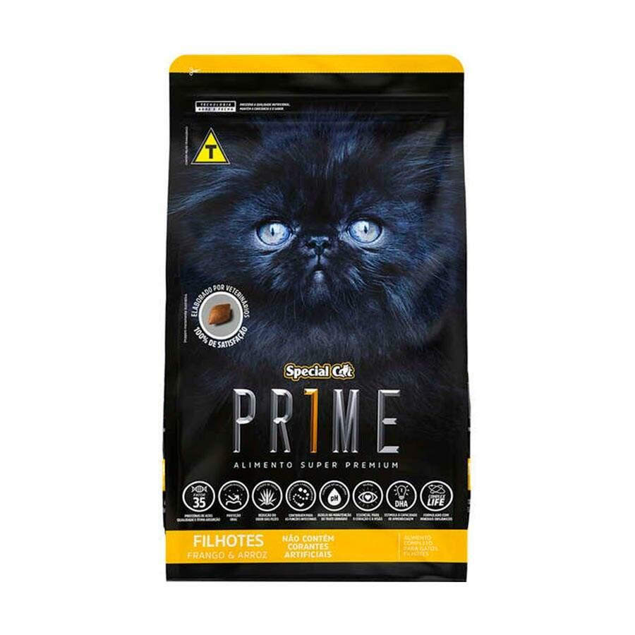 Ração Special Cat Prime Frango e Arroz Filhote - 3Kg