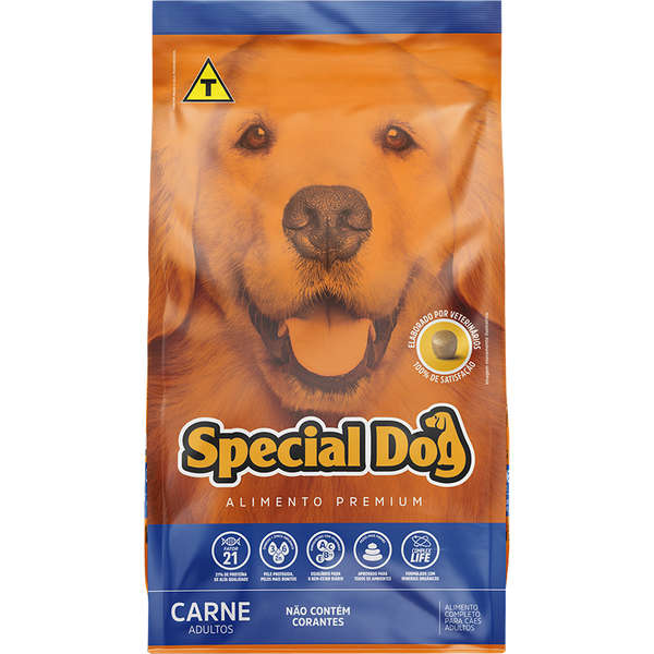 Ração Special Dog Carne Adulto 20Kg