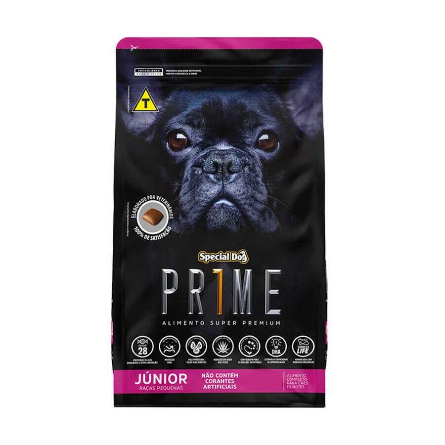 Ração Special Dog Prime Raças Pequenas Júnior - 1Kg