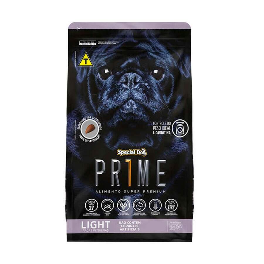 Ração Special Dog Prime Raças Pequenas Light  3Kg