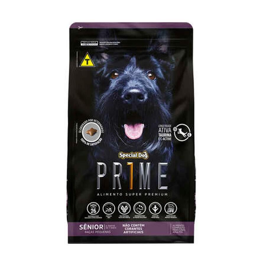 Ração Special Dog Prime Raças Pequenas Sênior 3Kg