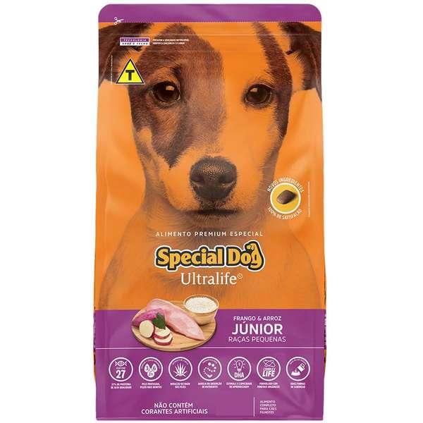 Ração Special Dog Ultralife Raças Pequenas Junior 15Kg