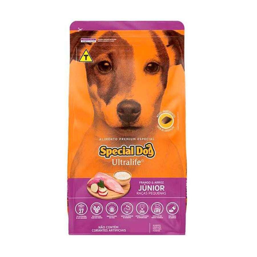 Ração Special Dog Ultralife Raças Pequenas Junior 3Kg