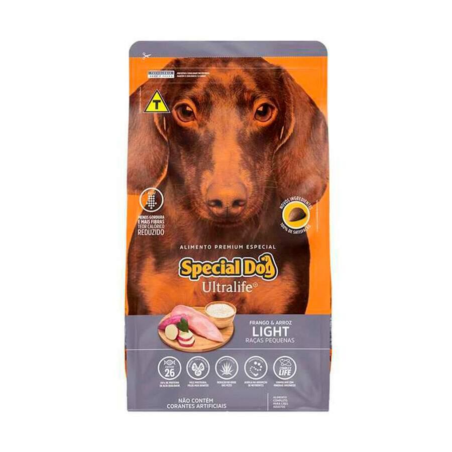 Ração Special Dog Ultralife Raças Pequenas Light - 10Kg