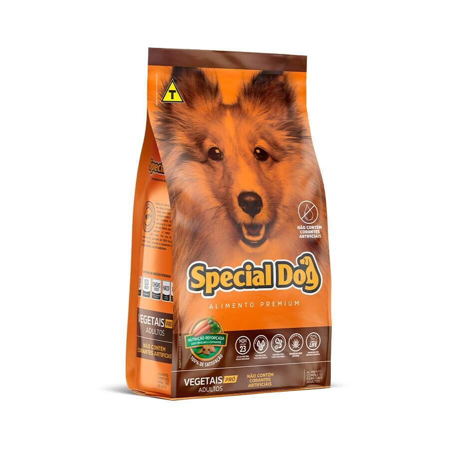 Ração Special Dog Vegetais Pro Adulto 10Kg