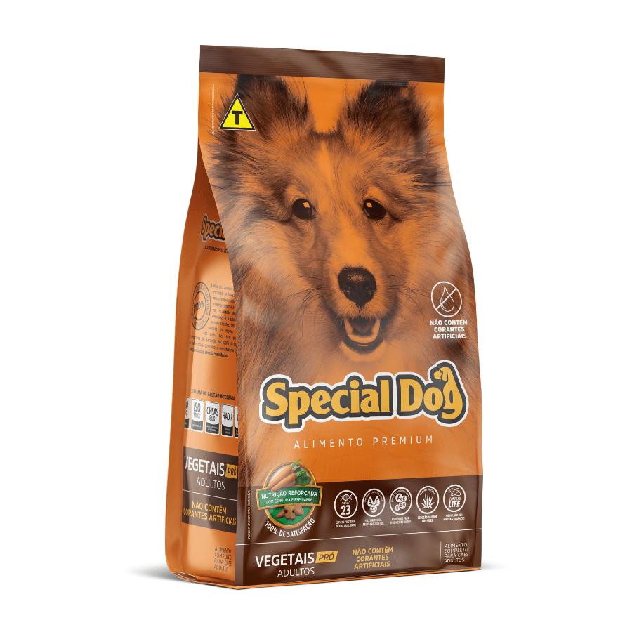 Ração Special Dog Vegetais Pro Adulto 15Kg
