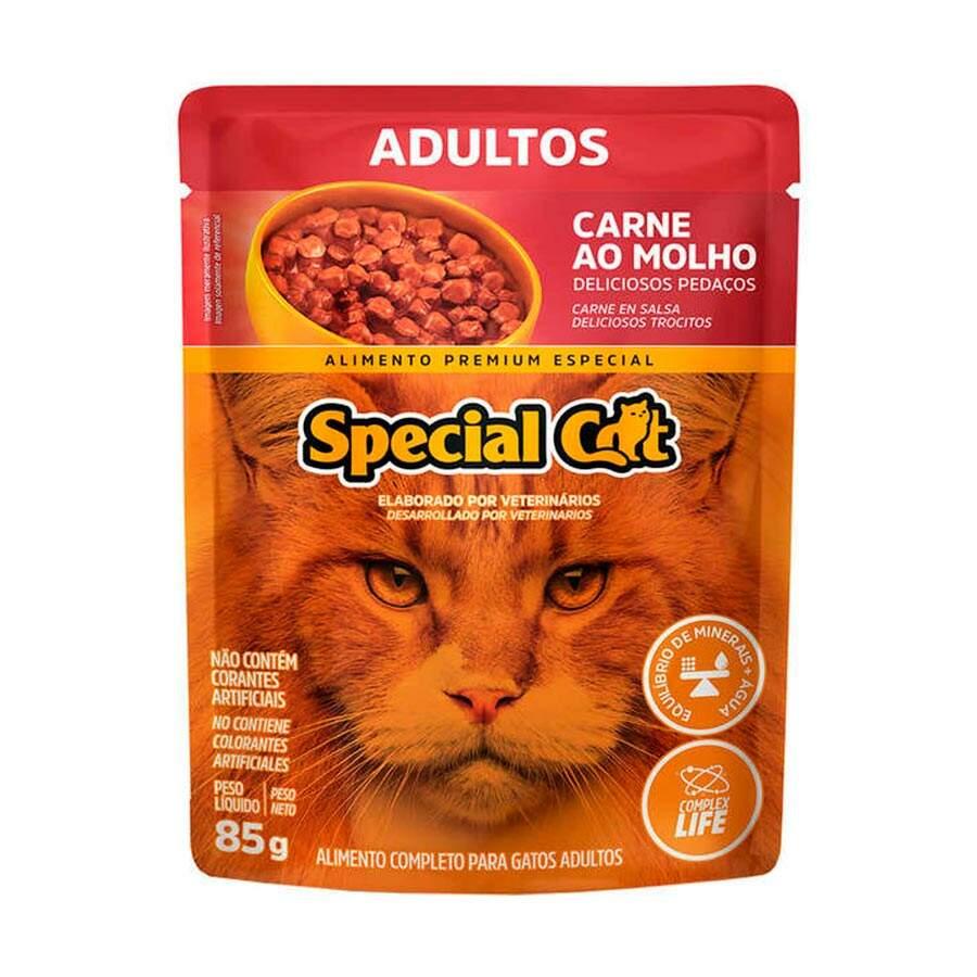 Sachê Special Cat  Carne Adulto 85g