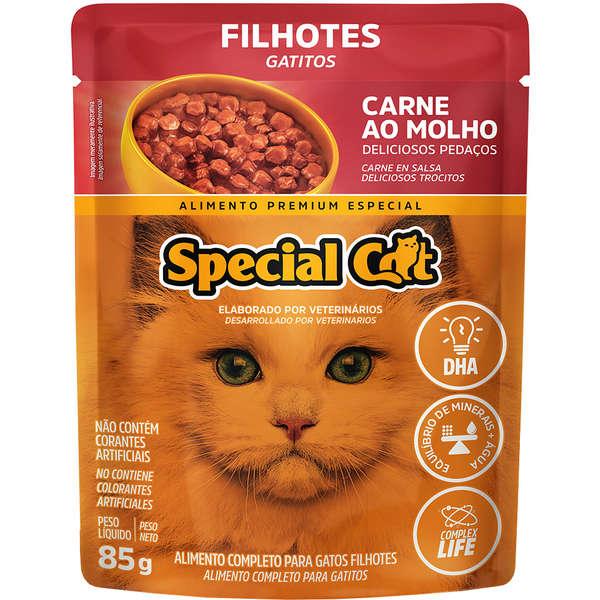 Sache Special Cat Carne Filhote  85g