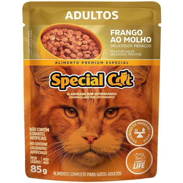 Sachê Special Cat Frango Adulto  85g
