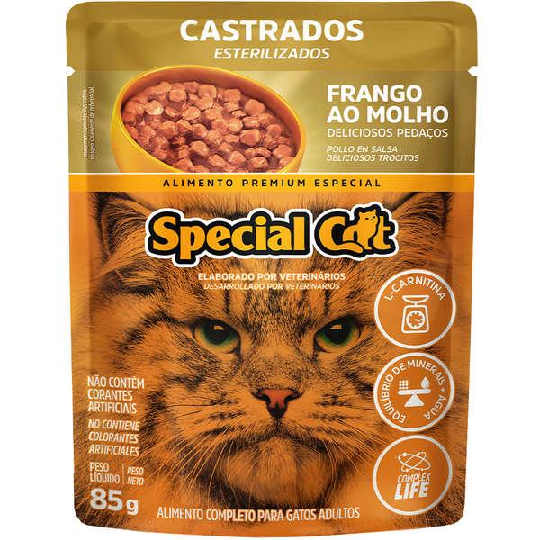 Sachê Special Cat Frango Castrado 85g