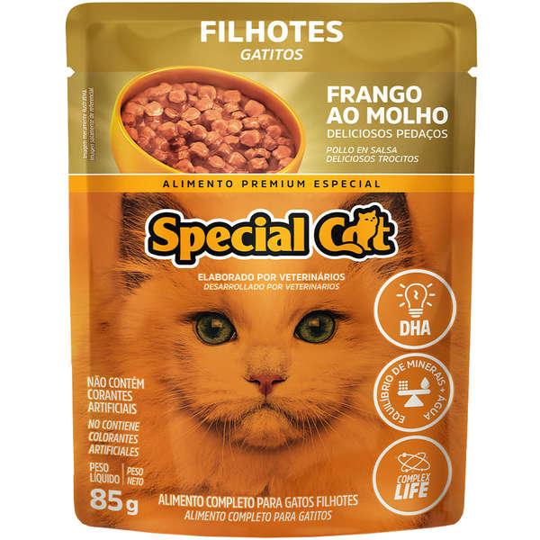 Sache Special Cat Frango Filhote  85g