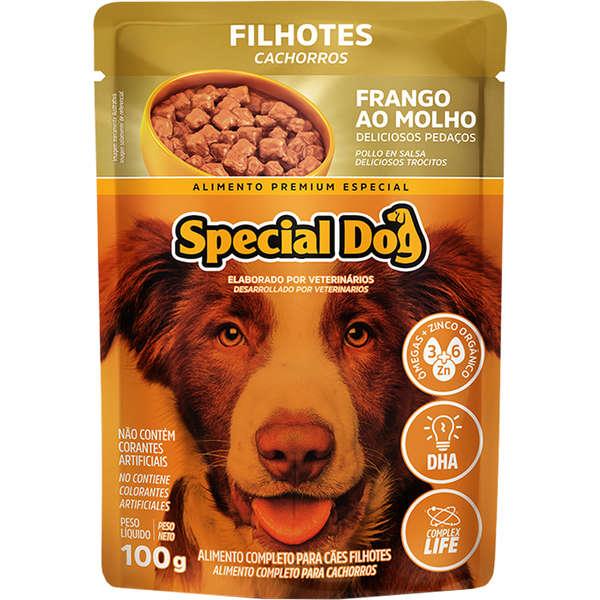 Sachê Special Dog Frango Filhote 100g