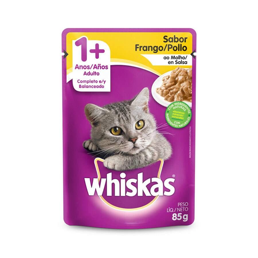 Sache Whiskas 1+ Frango Adulto 85g