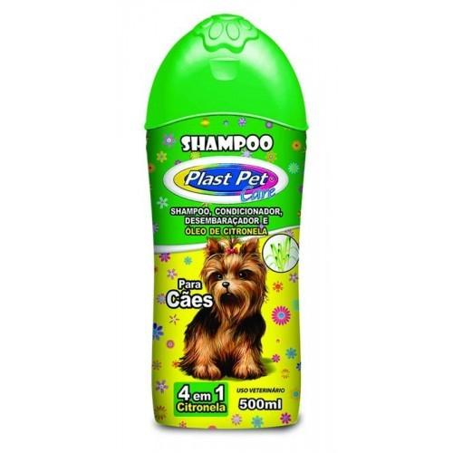 Shampo Pet Care 4 em 1 Citronela 500 ml