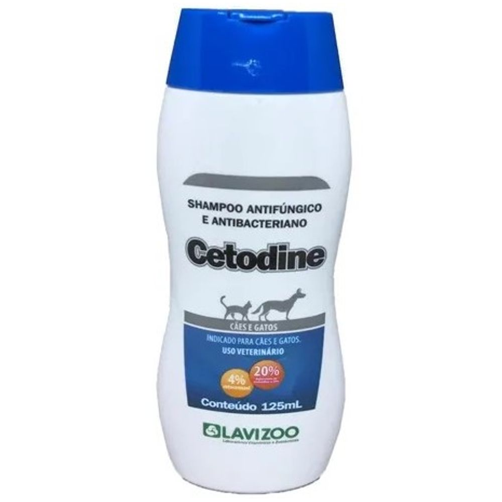 Shampoo Cetodine 125 ml