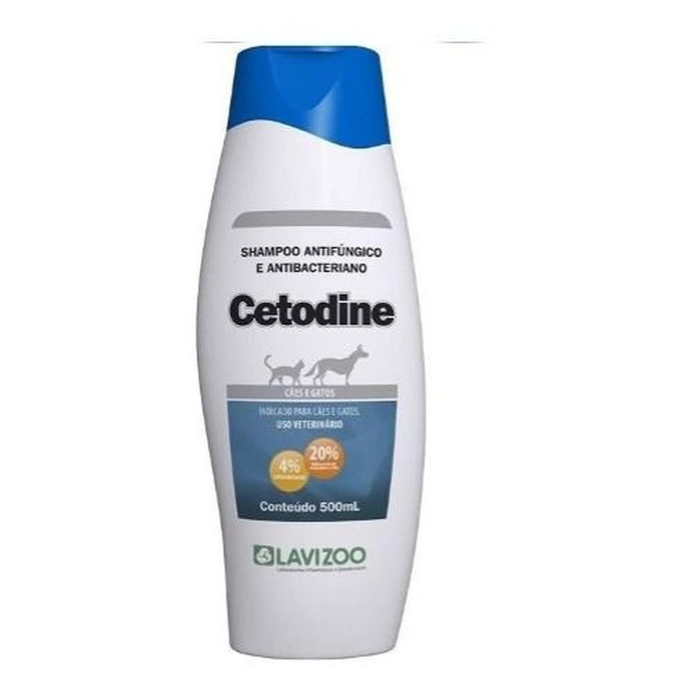 Shampoo Cetodine 500 ml