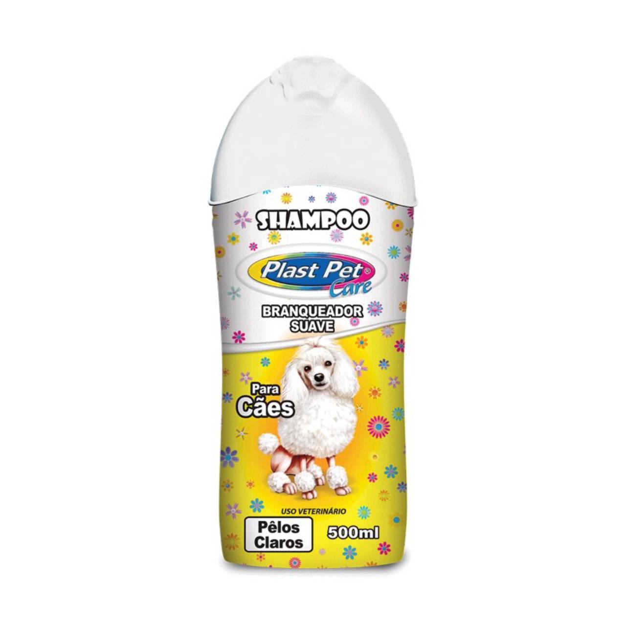 Shampoo Plas Pet Care Pelos Claros