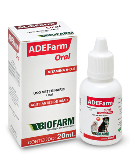 Suplemento Adefarm Oral 20ml