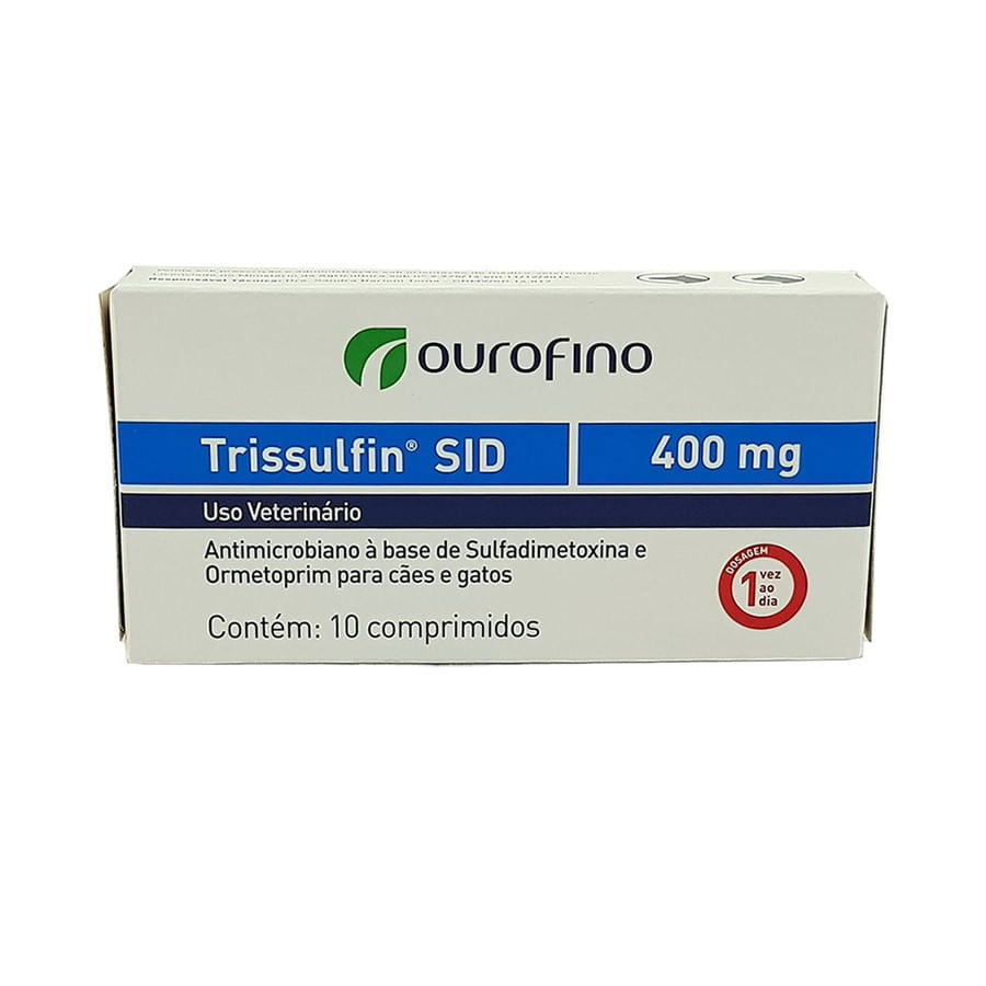 Trissulfin 400g - 10 Comprimidos