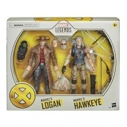 Action Figures Marvel Legends Series Logan e Gavião Arqueiro - Hasbro