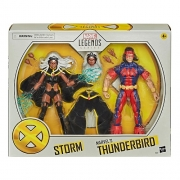 Action Figures Marvel Legends Series Tempestade Storm e Thunderbird - Hasbro