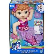 Baby Alive Linda Sereia Ruiva - Hasbro