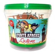 Balde Forte Apache 34 Peças Gulliver 0605