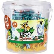 Balde Zoo 39 Peças Gulliver 1040