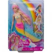 Boneca Barbie Dreamtopia Sereia Muda de Cor Mattel GTF89
