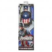 Boneco Articulado Capitão América Vingadores Ultimato 30cm Hasbro Titan Hero Series F1342